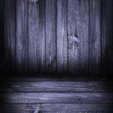 Bleu marine en bois de panneaux de fond Images libres de droits