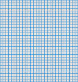 Bleu papier de graphe par ligne Image libre de droits