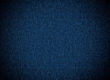 Bleu profond, texture de tissu Images libres de droits