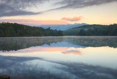 Bleu Ridge Pkwy North Carolina de lac price Photo libre de droits