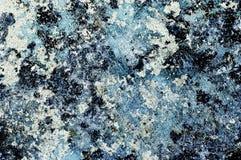 Bleu rugueux Photos libres de droits