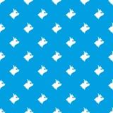 Bleu sans couture de modèle de chien de Pinscher Photos libres de droits