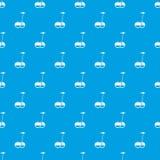 Bleu sans couture de transport de modèle alternatif de véhicule Photos libres de droits