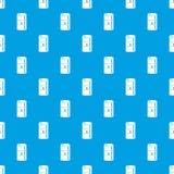 Bleu sans couture de vecteur de modèle d'huile de baril illustration stock