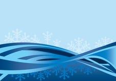 BLEU van Kerstmis Royalty-vrije Stock Afbeeldingen