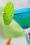 Bleu-vert Photos libres de droits