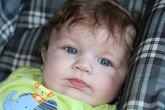 Bleus de bébé Image libre de droits
