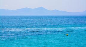 Bleus méditerranéens Photos stock