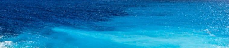 Bleus spectaculaires de la mer Égée Images libres de droits