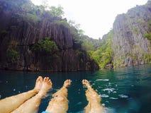 Bliźniacza laguna zdjęcia stock
