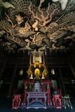 Bliźniaczy smoki maluje na suficie przy Kennin-ji świątynią Zdjęcie Stock