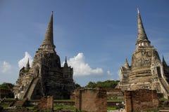 Bliźniacza Antyczna pagoda Fotografia Royalty Free