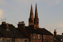 Bliźniacze iglicy, North Yorkshire Obraz Royalty Free