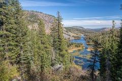 Bliźniaczy jeziora Fotografia Stock