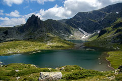 Bliźniak Siedem Rila jezior, Rila góra Obrazy Royalty Free