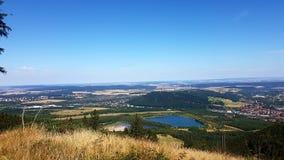 Blick auf Goslar vom Rammelsberg Obraz Royalty Free