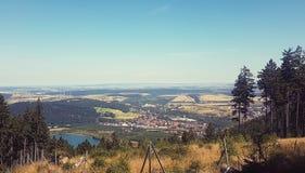 Blick auf Goslar vom Rammelsberg Royalty Free Stock Photo