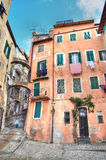 Blick der historischen Mitte von Sanremo Lizenzfreies Stockfoto