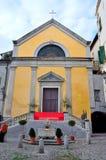 Blick der historischen Mitte von Sanremo Lizenzfreie Stockfotografie