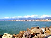 Blick der Küste Lizenzfreie Stockfotografie
