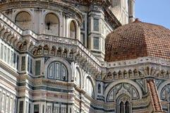 Blick der Kathedrale von Florenz-Toskana-Italien Lizenzfreie Stockfotos