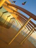 Blick des Docks Stockbild