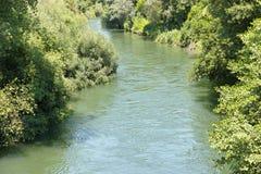 Blick des Fluss nera Lizenzfreies Stockfoto