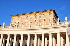 Blick des Marktplatzes San Pietro Lizenzfreie Stockbilder