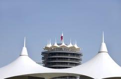Blick des VIP-Kontrollturms in BIC Stockfoto