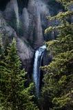 Blick eines Wasserfalls Stockfoto