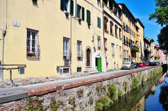 Blick in Lucca Stockfotos