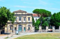 Blick in Lucca Stockbild