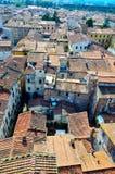 Blick in Lucca Lizenzfreies Stockbild