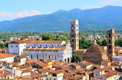 Blick in Lucca Lizenzfreies Stockfoto