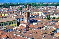 Blick in Lucca Stockfotografie