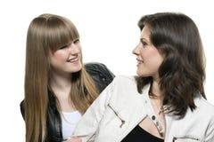 Blick mit zwei Frauen Lizenzfreies Stockfoto