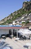 Blick von berat Albanien Europa Lizenzfreie Stockfotos