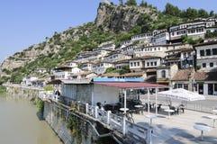 Blick von berat Albanien Europa Stockbilder