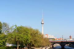 Blick von Berlin Stockbild