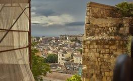 Blick von Cagliari stockfotografie