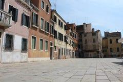 Blick von einem unbekannten Venedig Lizenzfreies Stockbild