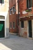 Blick von einem unbekannten Venedig Stockfotografie