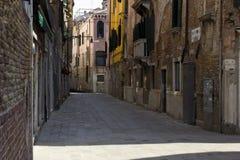 Blick von einem unbekannten Venedig Stockfoto