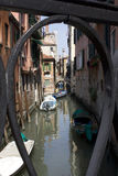 Blick von einem unbekannten Venedig Lizenzfreies Stockfoto