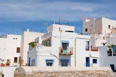 Blick von Peniscola, Spanien Stockbilder