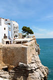 Blick von Peniscola, Spanien Stockfoto