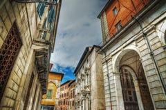 Blick von Pisa im hdr Lizenzfreie Stockbilder