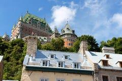 Blick von Quebec City Stockbild