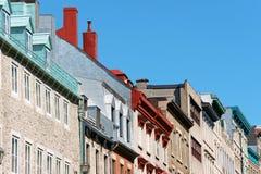 Blick von Quebec City Stockfotografie