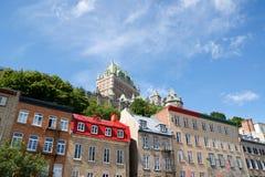 Blick von Quebec City Lizenzfreie Stockfotos